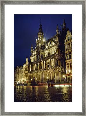 Grand Place Framed Print