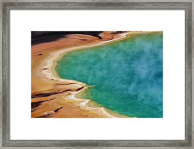 Grand Prismatic Symphony Framed Print by Marc Shandro