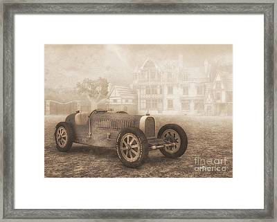 Grand Prix Racing Car 1926 Framed Print by Jutta Maria Pusl