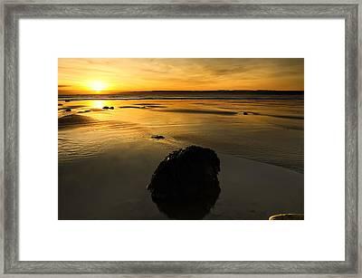 Grand Rock Framed Print by Svetlana Sewell
