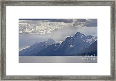 Grand Teton National Park Jackson Lake Framed Print