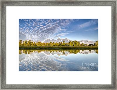 Grand Teton Reflections Jackson Hole Framed Print