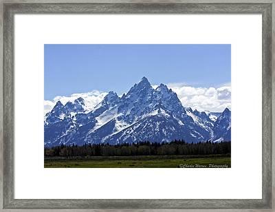 Grand Tetons 2 Framed Print