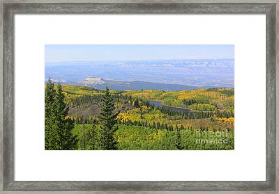 Grand View Framed Print