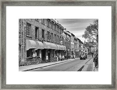 Framed Print featuring the photograph Grande Allee by Eunice Gibb