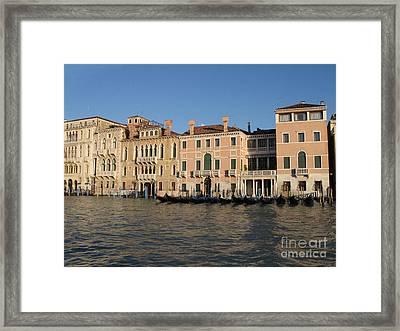 Grande Canal. Venice Framed Print