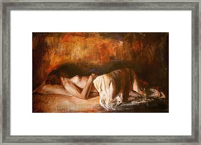 Grandezza Framed Print by Escha Van den bogerd