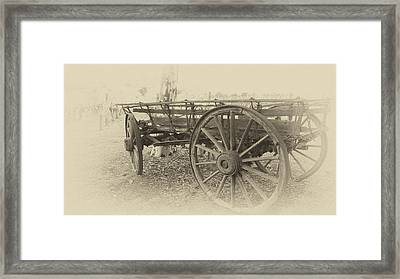 Grandfather's Sunday Drive Framed Print by Douglas Barnard