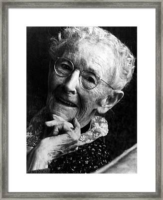 Grandma Moses 1860-1961, Renowned Framed Print