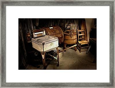 Grandma's Attic Framed Print by Cecil Fuselier