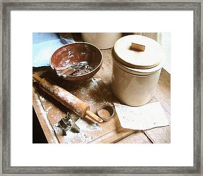 Grandma's Love Framed Print by Cristophers Dream Artistry