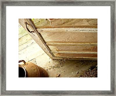 Grandma's Porch Framed Print by Katherine Adams