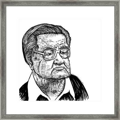 Grandpa Framed Print by Karl Addison