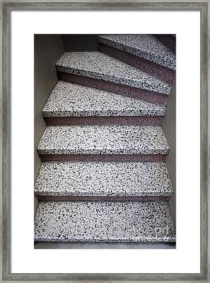 Granite Stairs Framed Print by Sam Bloomberg-rissman