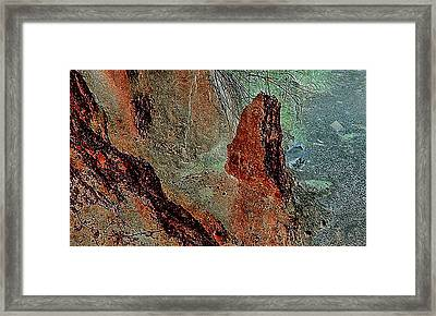 Framed Print featuring the photograph Grape Creek by Louis Nugent