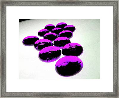 Grape Juice Framed Print by Molly McPherson