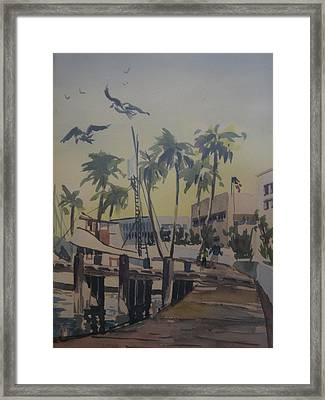 Grape Street Framed Print