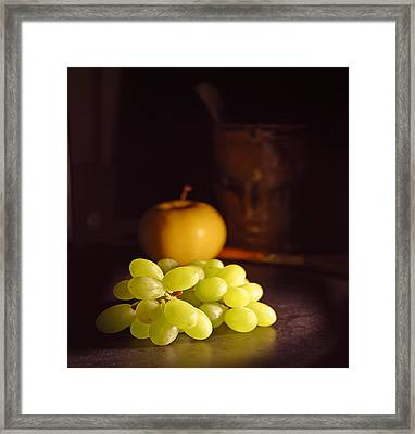 Grapes  Framed Print by Davor Sintic