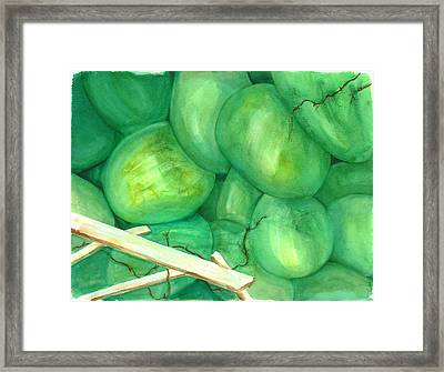 Grapes Of Writhe Framed Print