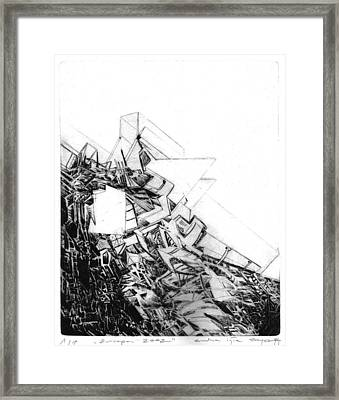 Graphics Europa 2014 Framed Print