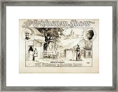Grasping An Opportunity, 1900. Martin Framed Print by Everett