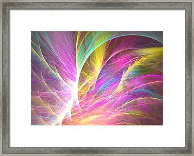 Grass Of Dreams Framed Print by Sipo Liimatainen