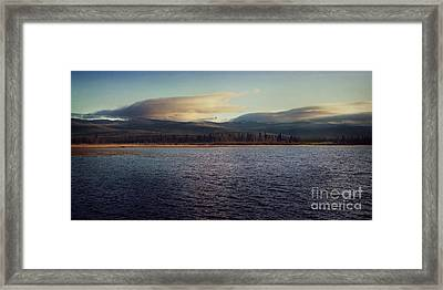 Gravel Lake Framed Print