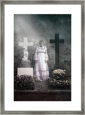 Graves Framed Print by Joana Kruse