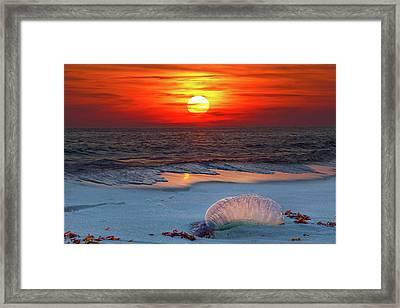 Grayton Beach Sunset IIi Framed Print