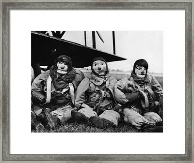 Great Britain. Royal Air Force Sandbag Framed Print