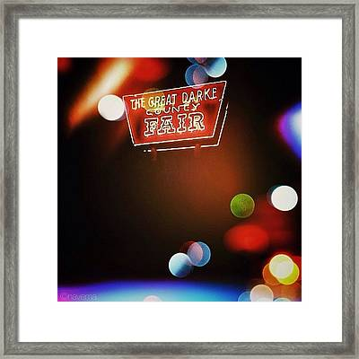 Great Darke County Fair Framed Print