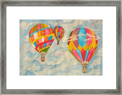 Great Day To Fly Framed Print