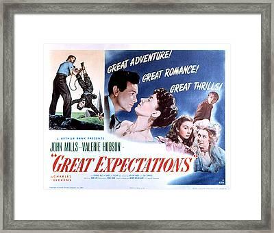 Great Expectations, John Mills, Valerie Framed Print by Everett