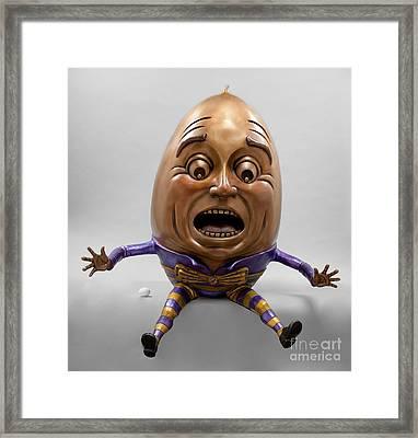 Great Fall Framed Print by Kimber Fiebiger