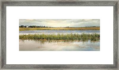 Framed Print featuring the photograph Great Marsh by Karen Lynch