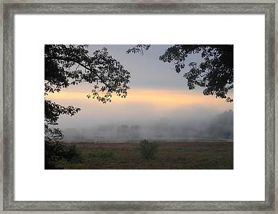 Great Meadows National Wildlife Refuge Sudbury River Wetland Framed Print by John Burk