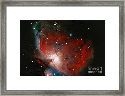 Great Nebula In Orion Framed Print by Science Source