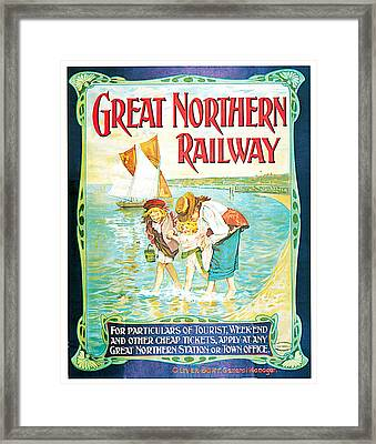 Great Northern Railway Framed Print by John Hayes