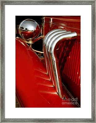Great Pipes Framed Print by Vivian Christopher
