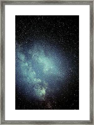 Great Rift In The Milky Way Framed Print by John Sanford