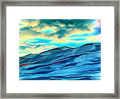 Great Sand Dunes Framed Print by Daniel Dodd