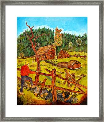 Great Smokey Mtn National Park Framed Print by Mike Holder