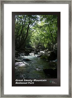 Great Smoky Mountains Np 001 Framed Print by Charles Fox