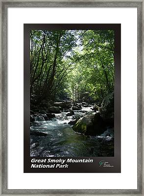 Great Smoky Mountains Np 002 Framed Print by Charles Fox