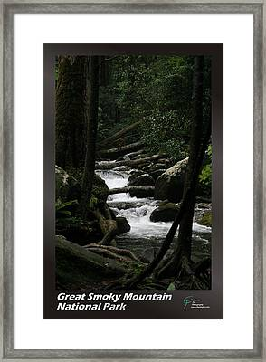 Great Smoky Mountains Np 004 Framed Print by Charles Fox