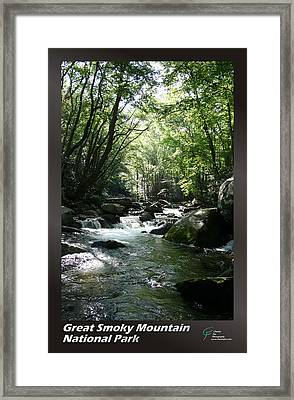 Great Smoky Mountains Np 005 Framed Print by Charles Fox