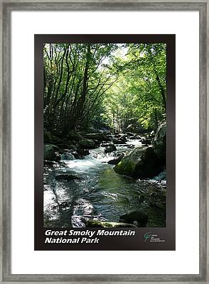 Great Smoky Mountains Np 006 Framed Print by Charles Fox