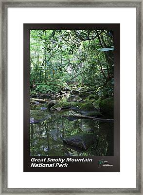Great Smoky Mountains Np 010 Framed Print by Charles Fox