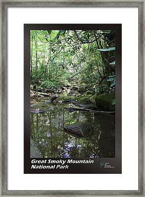Great Smoky Mountains Np 011 Framed Print by Charles Fox