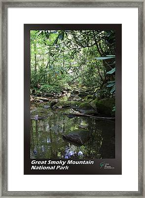 Great Smoky Mountains Np 012 Framed Print by Charles Fox